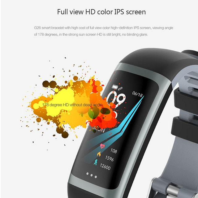 Waterproof Health Monitoring Fitness Bracelet
