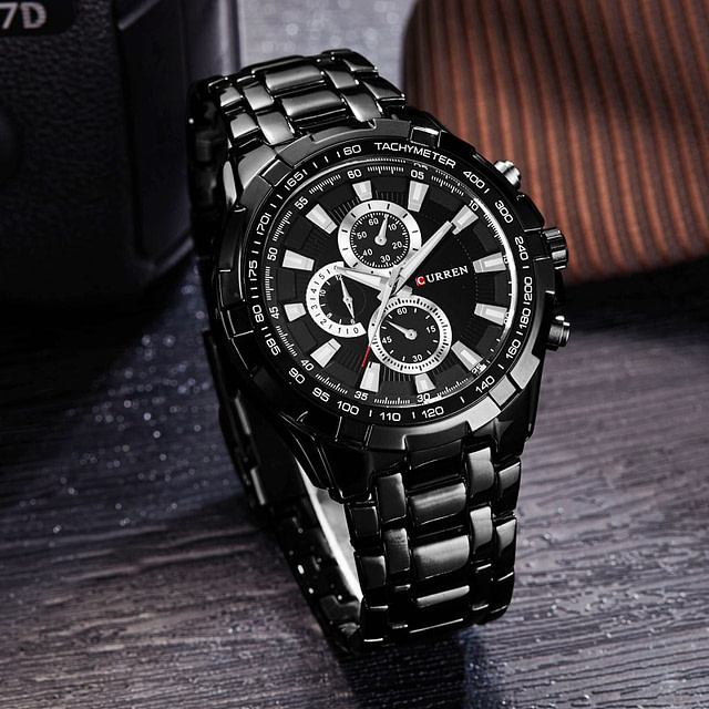 Men's Metal Wrist Watches